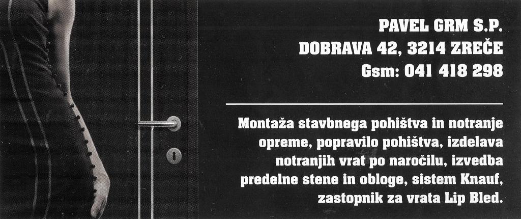 Prodaja, Montaža notranjih vrat, notranjega pohištva, Pavel Grm s.p., Zreče, Štajerska gallery photo no.1