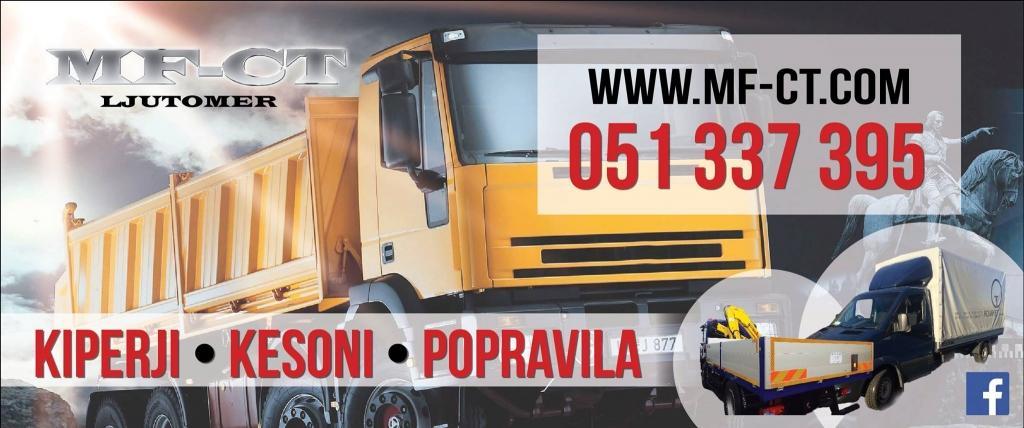 Nadgradnje tovornih vozil, prodaja tovornih dvigal MF-CT, Štajerska gallery photo no.2