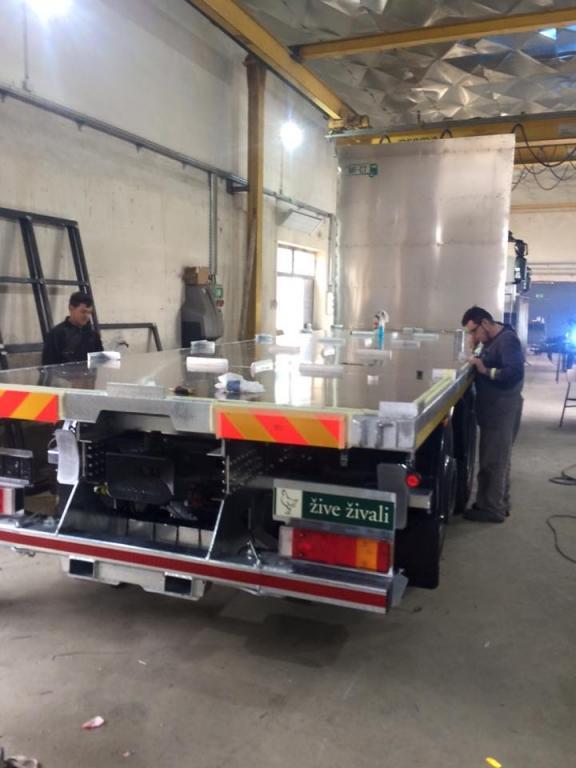 Nadgradnje tovornih vozil, prodaja tovornih dvigal MF-CT, Štajerska gallery photo no.16