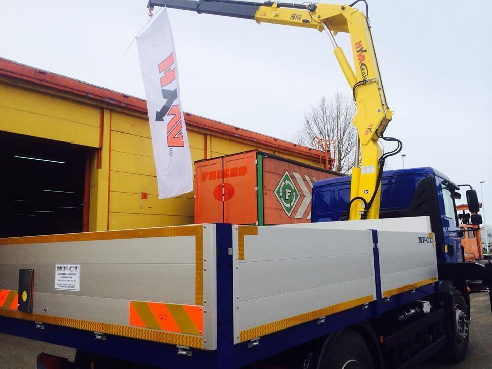 Nadgradnje tovornih vozil, prodaja tovornih dvigal MF-CT, Štajerska gallery photo no.24