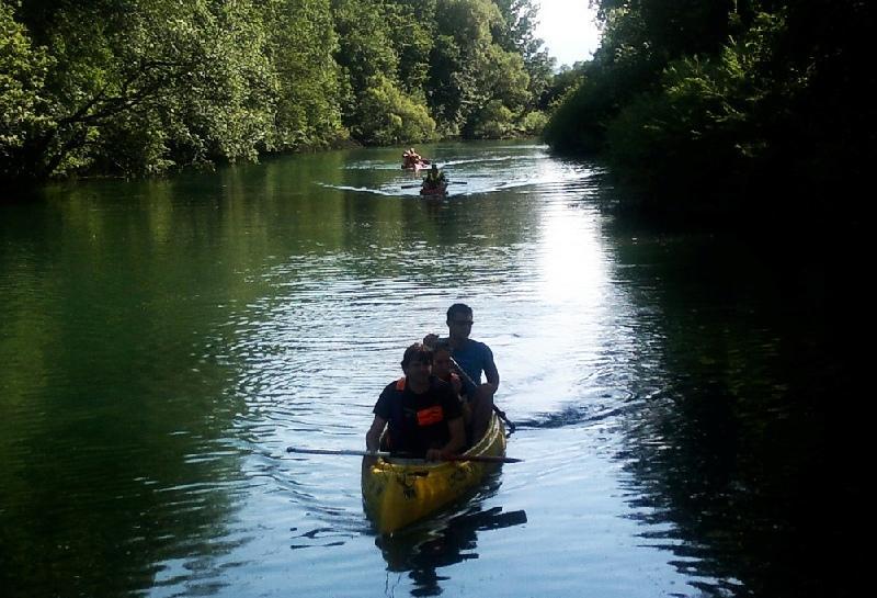 Najem kanuja, plovba po Ljubljanici Bober Marine, Ljubljana gallery photo no.16