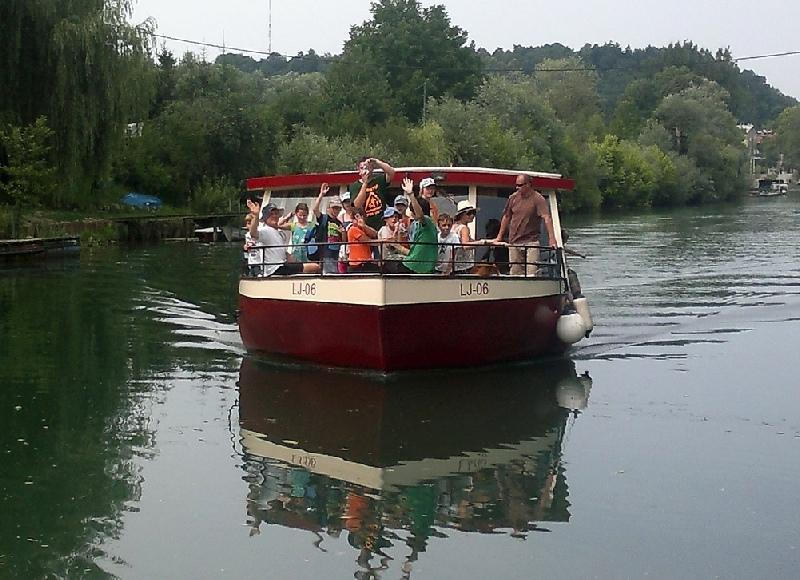 Najem kanuja, plovba po Ljubljanici Bober Marine, Ljubljana gallery photo no.21