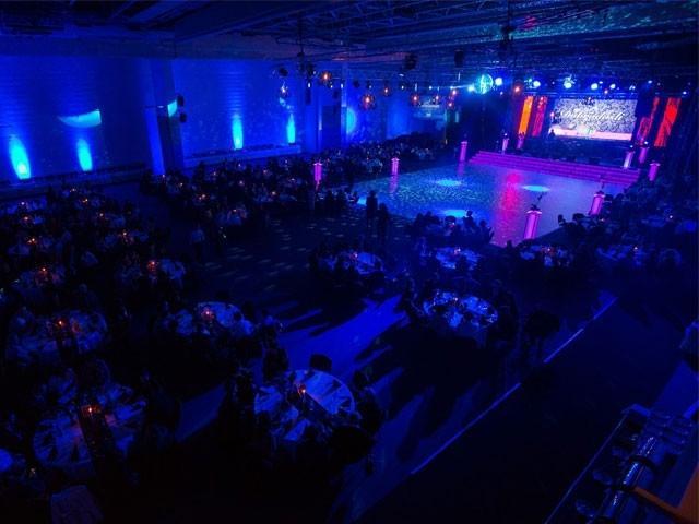 Najem ozvočenja, postavitev ozvočenja, razsvetljava odra, led zasloni Bumerang d.o.o. gallery photo no.21