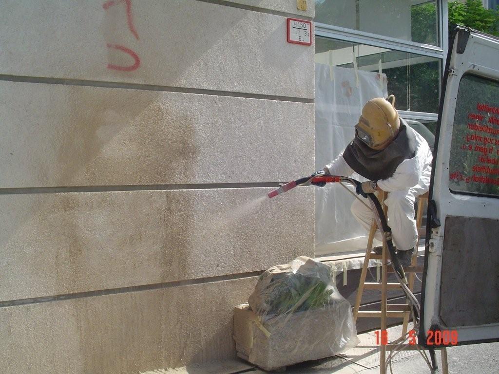 Odstranjevanje grafitov SISAPI, čiščenje fasad, Ljubljana gallery photo no.16