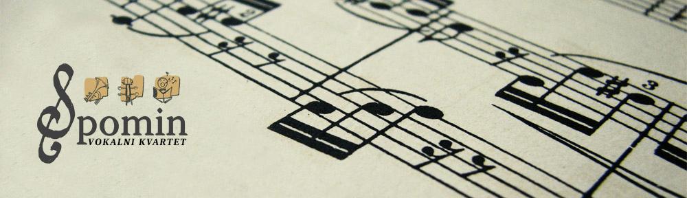 Petje na pogrebu, glasba na pogrebu - Kvartet Spomin gallery photo no.0