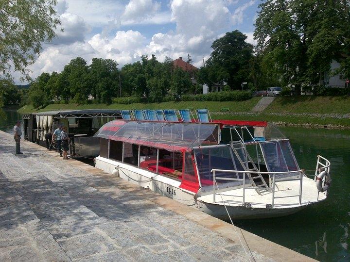 Plovba po Ljubljanici - rečna ladja ŽABA gallery photo no.0