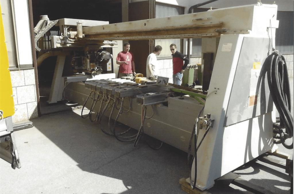 Popravilo in selitve strojev za mizarje in kovinarje gallery photo no.9