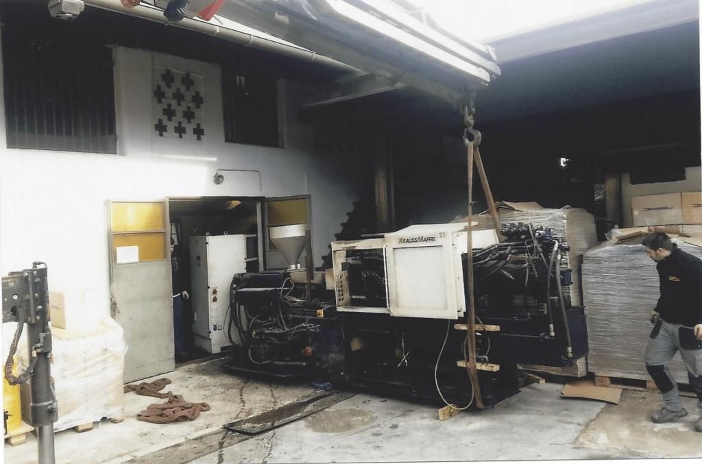 Popravilo in selitve strojev za mizarje in kovinarje gallery photo no.11