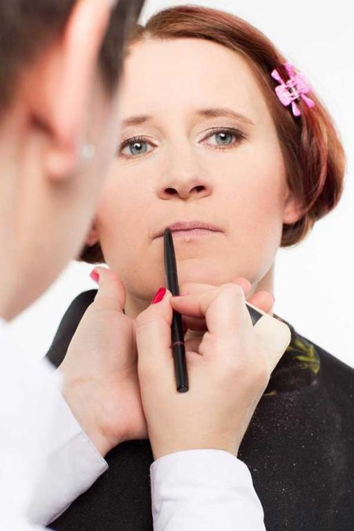 Poročno ličenje, maturantsko ličenje, makeup, dolgo obstojni gelirani nohti, Kranj, Gorenjska gallery photo no.2