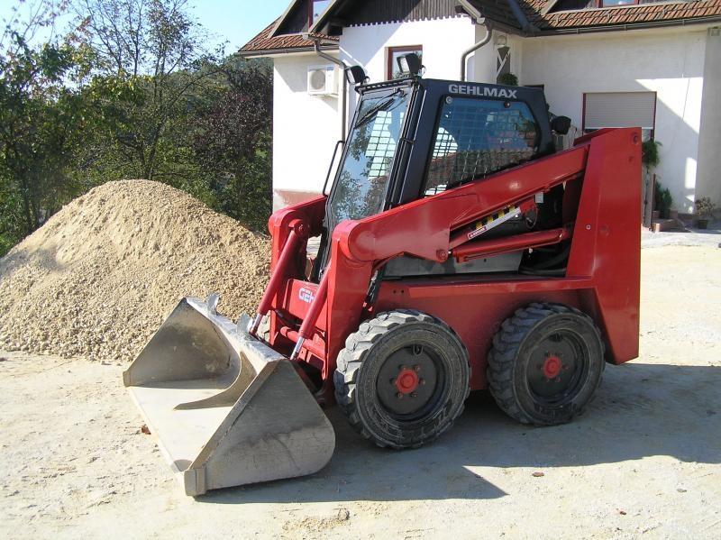 Prevoz gradbenega materiala, storitve z gradbeno mehanizacijo gallery photo no.5