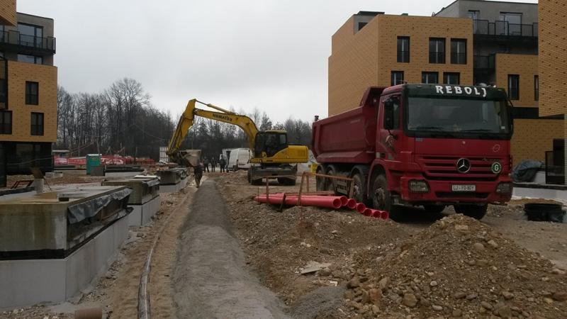 Prevozi, izkopi, rušitvena dela, asfaltiranje dvorišč, Ljubljana gallery photo no.10