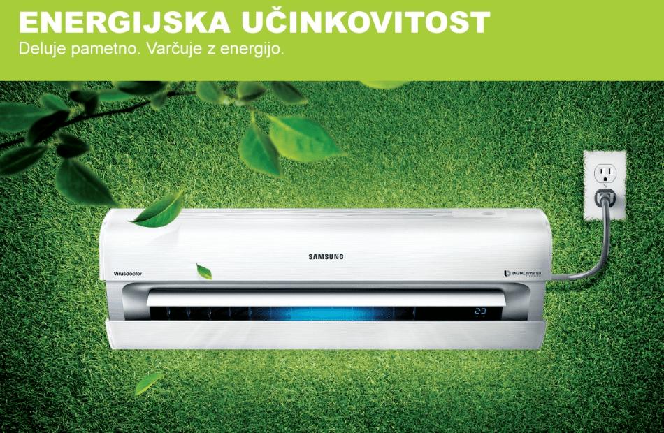 Prodaja, montaža klima naprav - toplotne črpalke Samsung, Samsung Wind Free, Štajerska gallery photo no.0