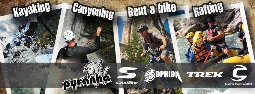 Rafting, kajak, rent a bike Soča - POSITIVE SPORT Kobarid gallery photo no.5
