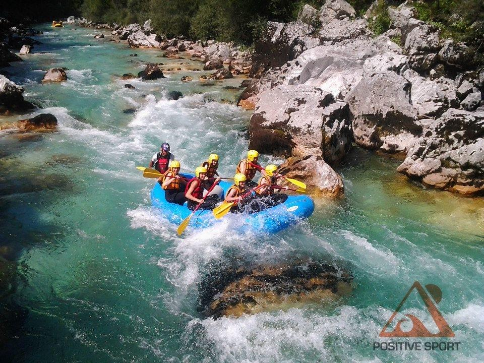 Rafting, kajak, rent a bike Soča - POSITIVE SPORT Kobarid gallery photo no.6