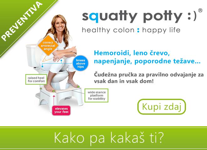 Rešitev težav s hemoroidi, zunanji hemoroidi, zaprtost, wc pručka, toaletna pručka, pravilno odvajanje gallery photo no.5
