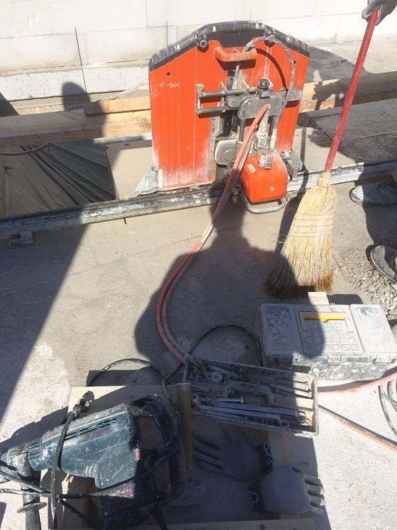 Diamantno rezanje in vrtanje betona  gallery photo no.6