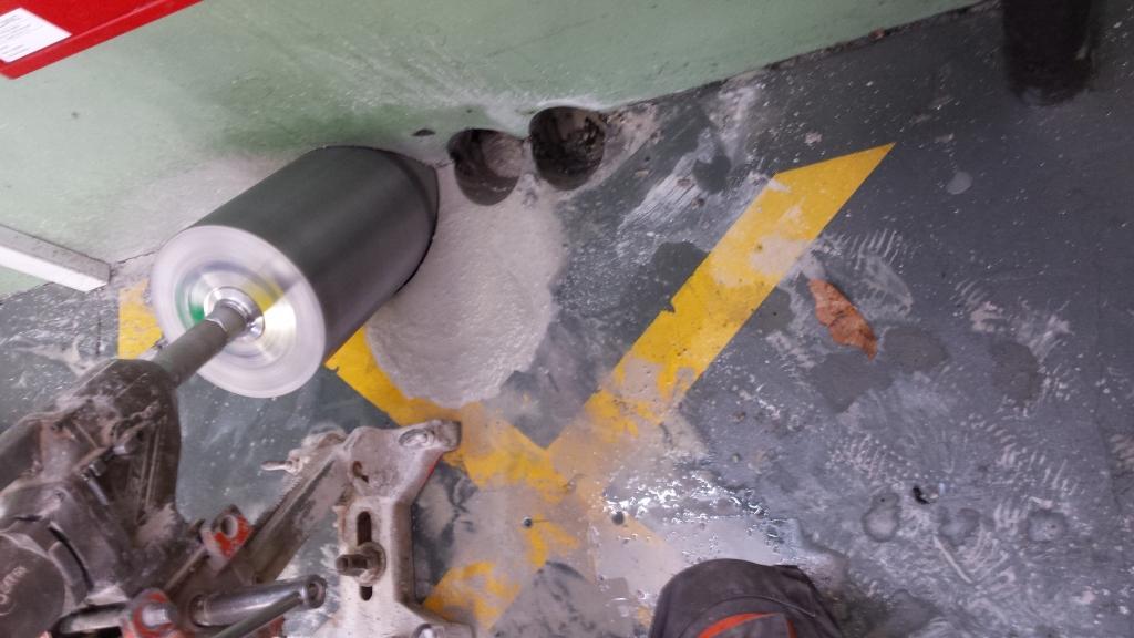 Diamantno rezanje in vrtanje betona  gallery photo no.9