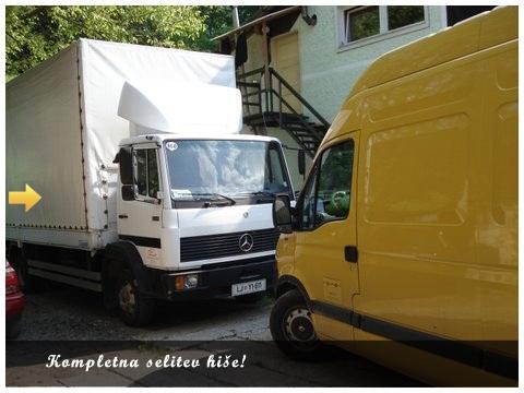 Selitveni servis Ljubljana, selitev pohištva, montaža pohištva, prevozi pohištva, prevoz v tujino, selitve tujina, selitve v tujino gallery photo no.3