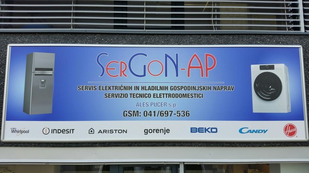 Servis gospodinjskih naprav, Koper, Primorska, SerGoN-AP gallery photo no.5