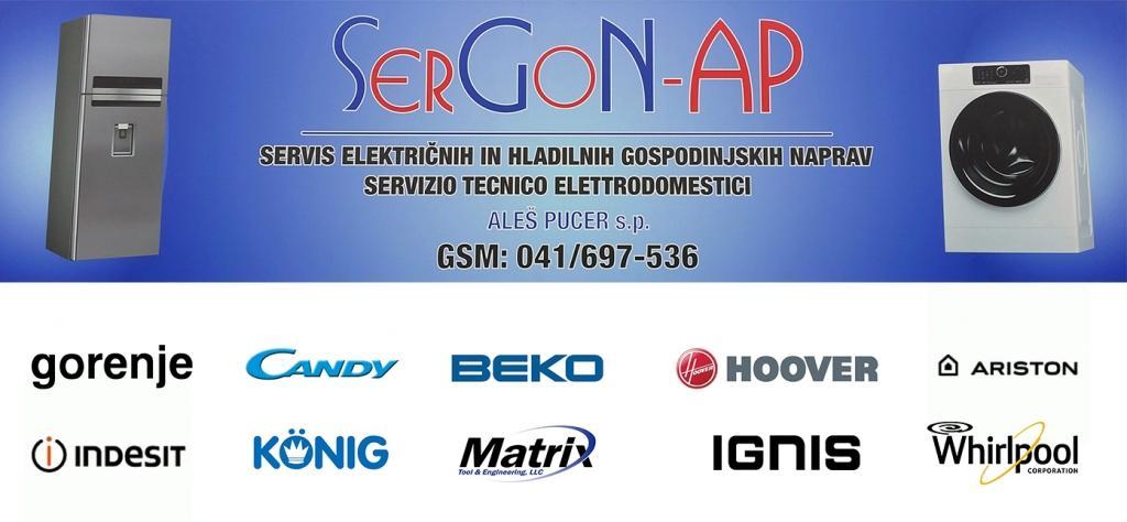 Servis gospodinjskih naprav, Koper, Primorska, SerGoN-AP gallery photo no.9