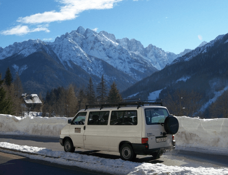 Shared transfers Kranjska Gora gallery photo no.3