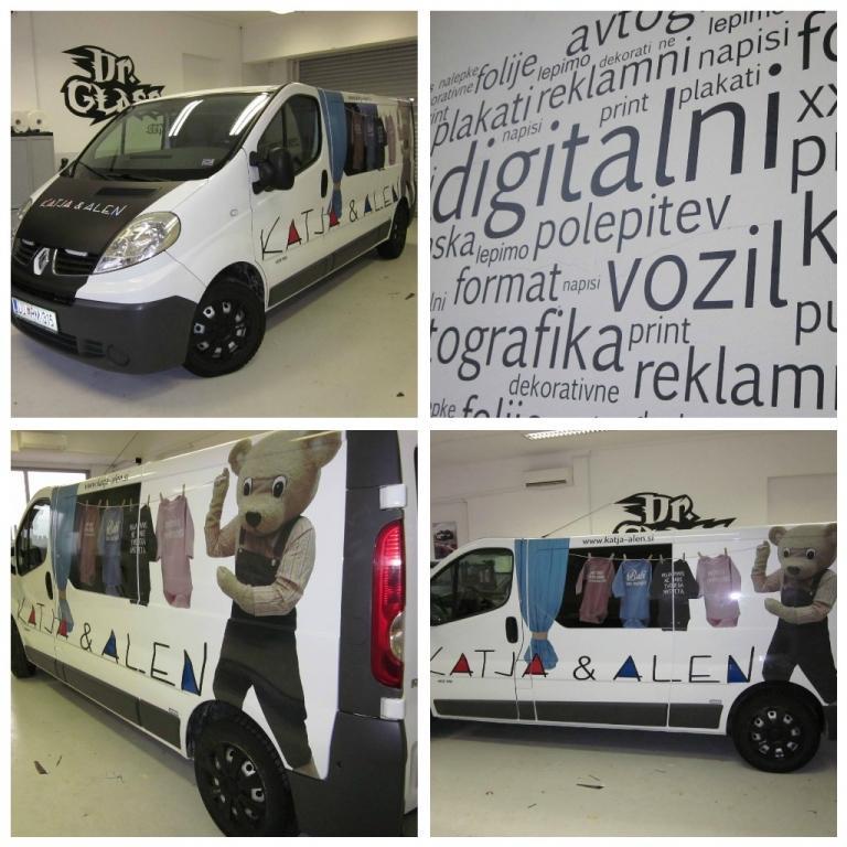 Temnenje avtostekel, digitalni print, polepitev vozil DR.GLASS, Ljubljana gallery photo no.9