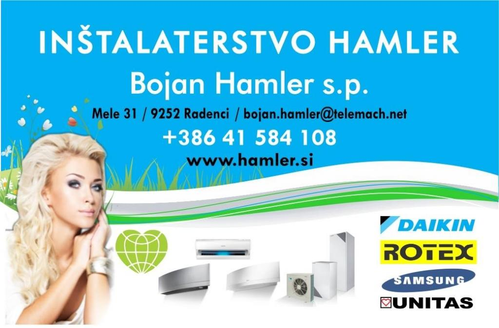 Toplotne črpalke - INŠTALATERSTVO BOJAN HAMLER s.p., Pomurje gallery photo no.1