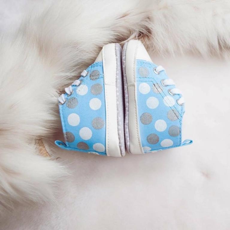 Unikatni poslikani otroški čeveljčki, darila za novorojenčke gallery photo no.11