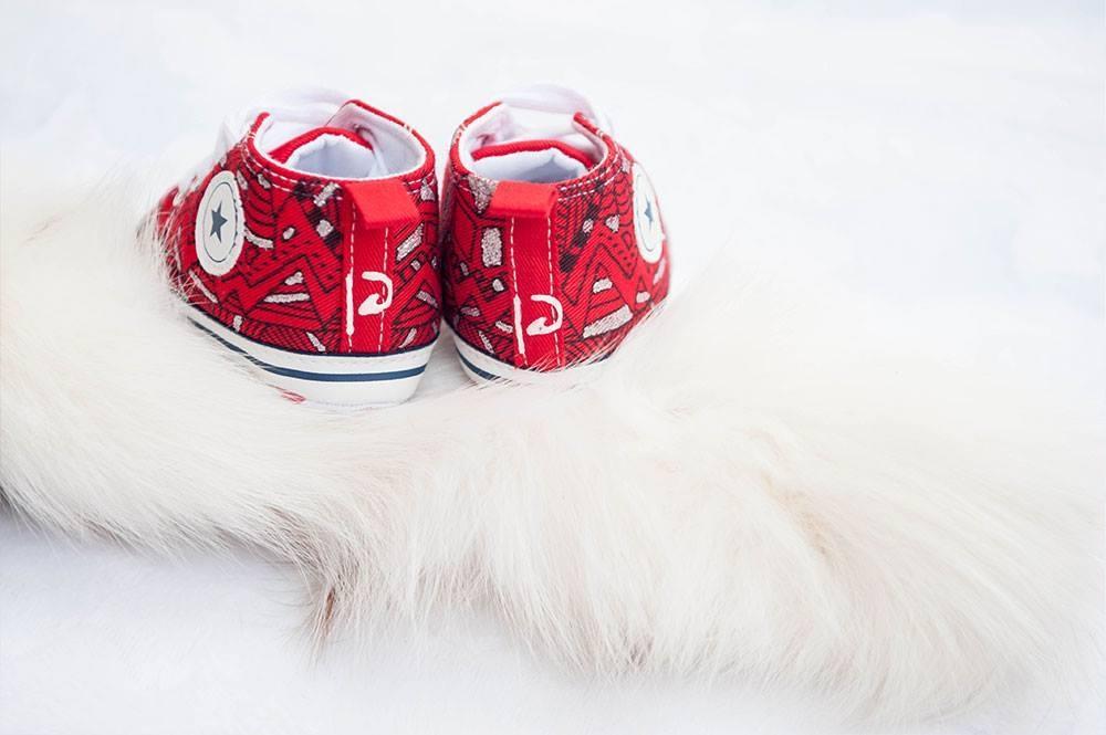 Unikatni poslikani otroški čeveljčki, darila za novorojenčke gallery photo no.14