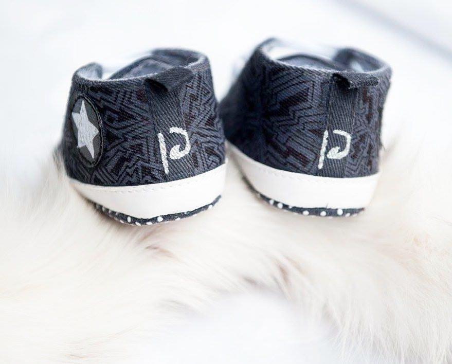 Unikatni poslikani otroški čeveljčki, darila za novorojenčke gallery photo no.27