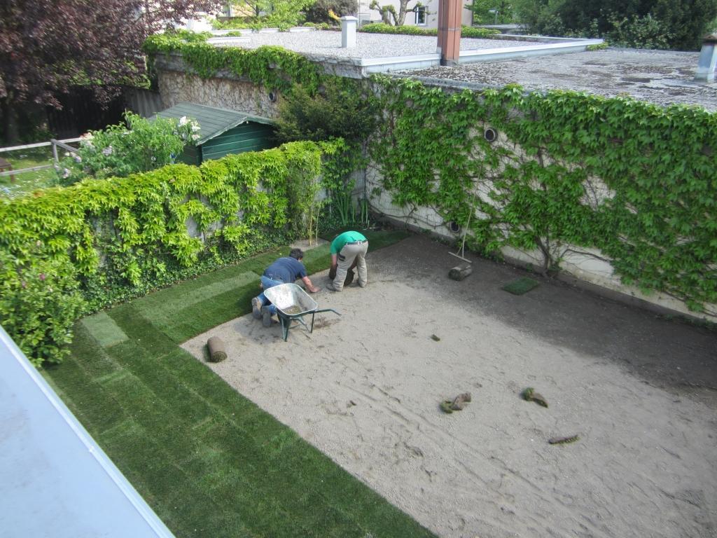 Urejanje, vzdrževanje vrtov, polaganje, setev trave, obrezovanje drevja, žive meje - Vrtnarstvo Šink gallery photo no.72