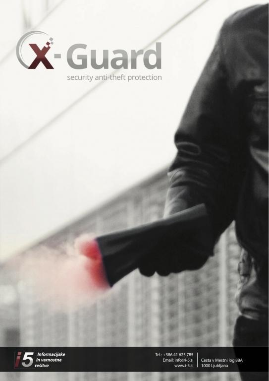Varnostni sistemi za obarvanje in varovanje denarja, elektrohemijska zaštita novca, staining cash system, XGUARD, dimni bankovec gallery photo no.7