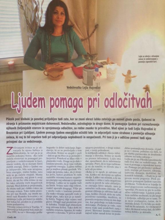 Vedeževanje Ljubljana, čiščenje negativne energije s svincem, vedeževalka Lejla Brezovica pri Ljubljani gallery photo no.4