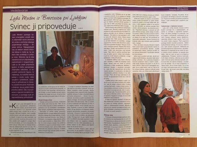 Vedeževanje Ljubljana, čiščenje negativne energije s svincem, vedeževalka Lejla Brezovica pri Ljubljani gallery photo no.7