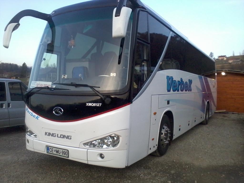 Avtobusni prevozi po Sloveniji, po Evropi Verbek gallery photo no.2