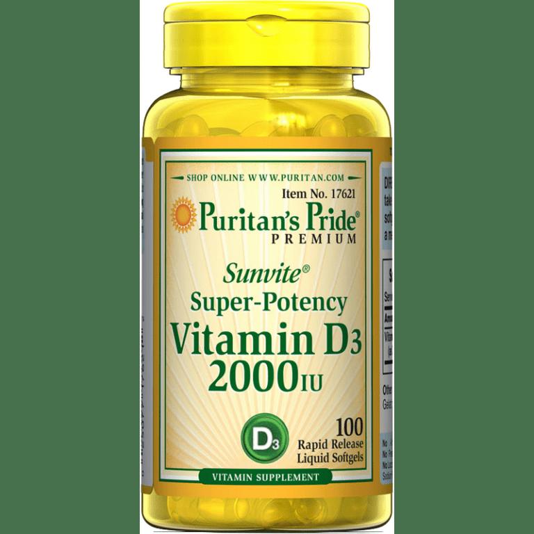 Vitamin D3 – Puritans Pride gallery photo no.5