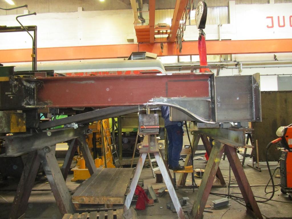 Vzdrževanje tirnih vozil, montaža kovinskih konstrukcij gallery photo no.4