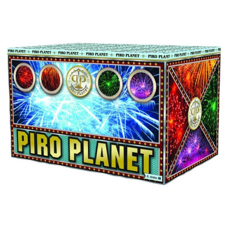 Zabavna pirotehnika, ognjemetna baterija - Pirotehnika Piroplanet gallery photo no.4