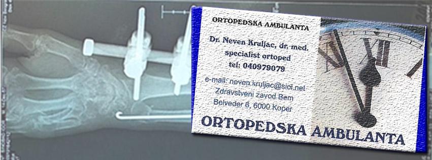 Zasebna ortopedska ordinacija, oprtopedska ordinacija Koper, ortopedija Koper gallery photo no.13