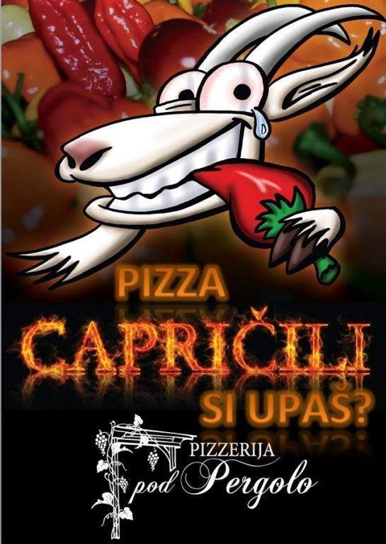 Pizzeria, picerija, pice, pod Pergolo, Koper, Obala gallery photo no.12