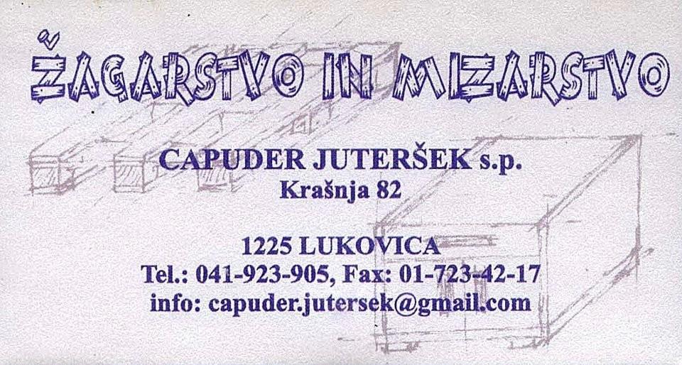 Žagarstvo in mizarstvo Capuder Juteršek, Lukovica Domžale gallery photo no.0