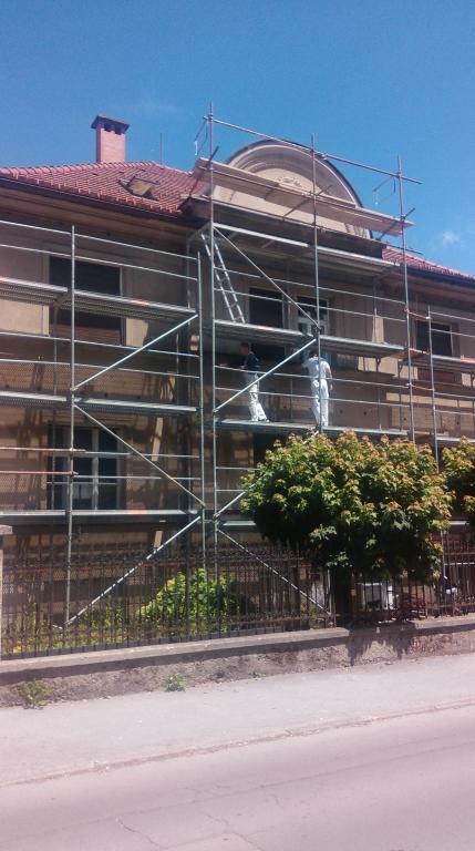 Fasaderstvo in slikopleskarstvo