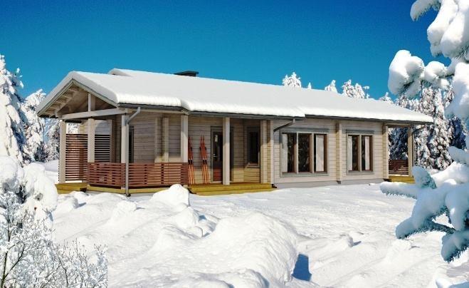 Svetovne brunarice KONTIO, lesene hiše, Trebnje gallery photo no.0