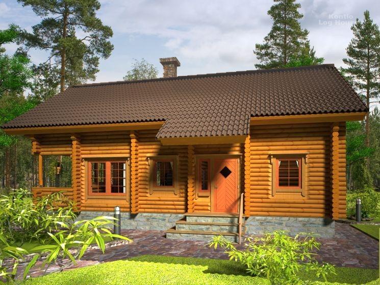 Svetovne brunarice KONTIO, lesene hiše, Trebnje gallery photo no.5