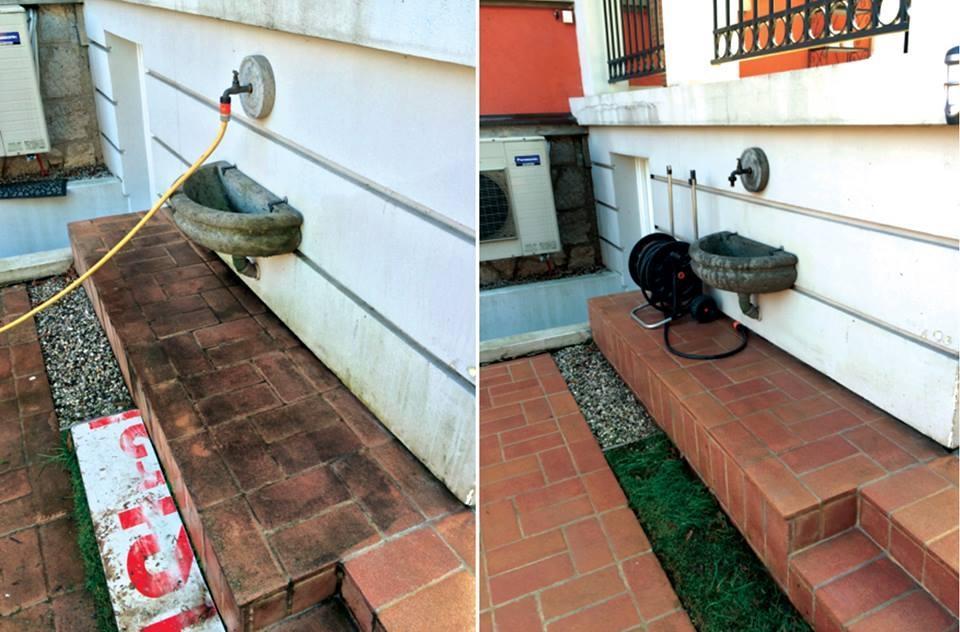 Odstranjevanje grafitov SISAPI, čiščenje fasad, Ljubljana gallery photo no.3