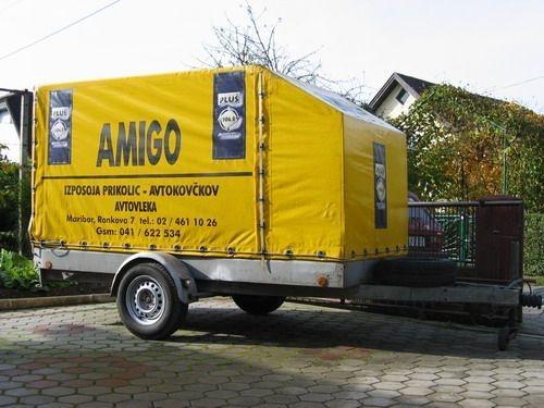 Izposoja prikolic AMIGO Maribor, ciscenje fasad, streh, tlakovcev Maribor gallery photo no.6