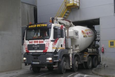 Halo beton, proizvodnja betona, Trebnje, Dolenjska gallery photo no.4