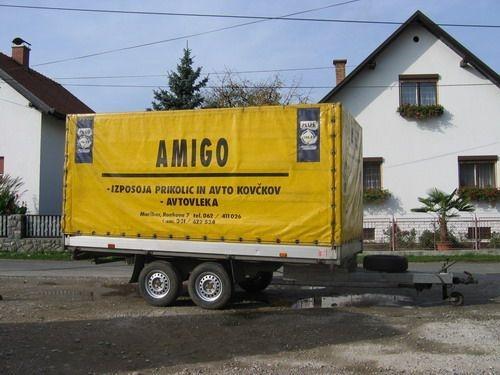 Izposoja prikolic AMIGO Maribor, ciscenje fasad, streh, tlakovcev Maribor gallery photo no.3