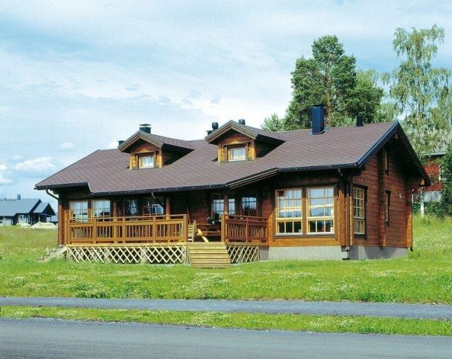Svetovne brunarice KONTIO, lesene hiše, Trebnje gallery photo no.1