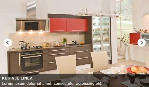 Kuhinje Linea, Kuhinje po meri, Studio notranje opreme, Slovenske Konjice gallery photo no.0